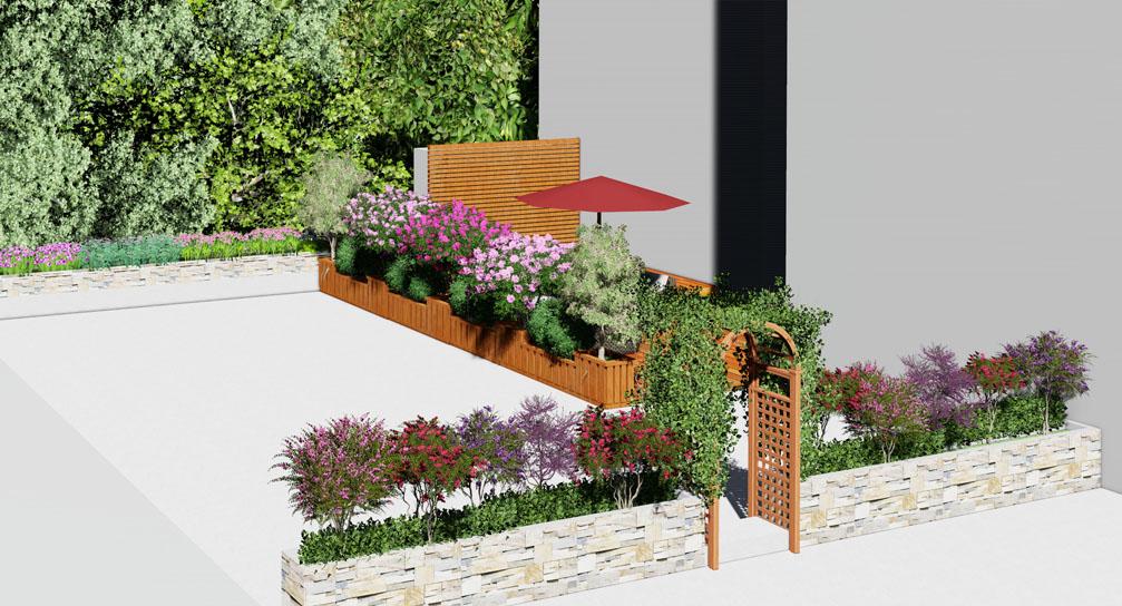 锦江国际屋顶花园